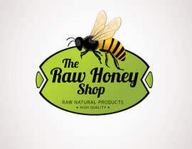 #168 untuk Logo Design for The Raw Honey Shop oleh Ollive