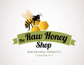 #64 untuk Logo Design for The Raw Honey Shop oleh Ollive