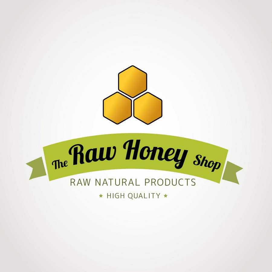 #160 for Logo Design for The Raw Honey Shop by Ollive