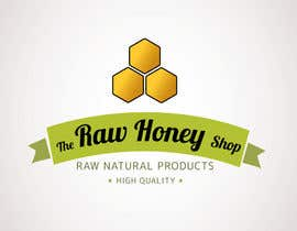 nº 160 pour Logo Design for The Raw Honey Shop par Ollive