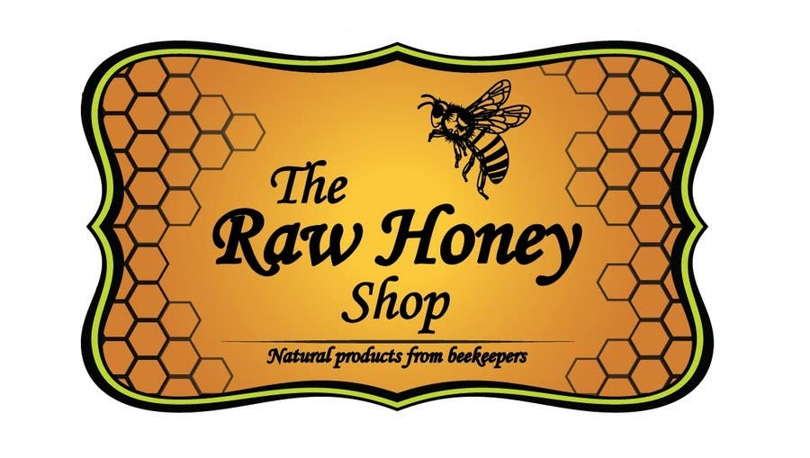 #451 for Logo Design for The Raw Honey Shop by zubalexey