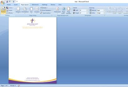 Image of                             Convert EPS letterhead into Word...
