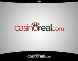#91 para Logo Design for Casinoreal.com por MladenDjukic
