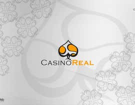 #209 para Logo Design for Casinoreal.com por stanislawttonkow
