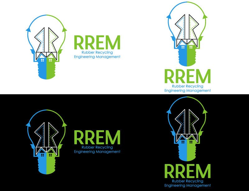 Contest Entry #444 for Logo Design for RREM  (Rubber Recycling Engineering Management)
