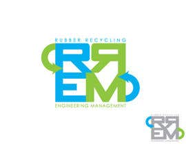 #317 para Logo Design for RREM  (Rubber Recycling Engineering Management) por Mohd00