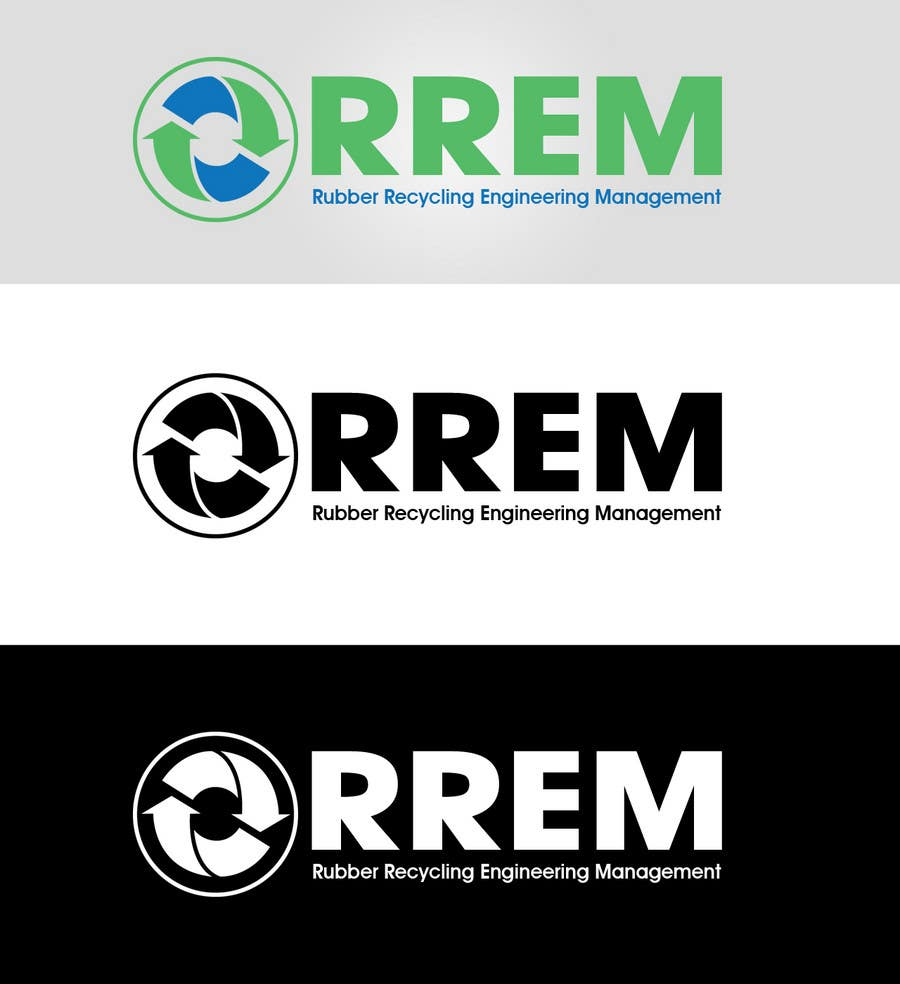 Contest Entry #428 for Logo Design for RREM  (Rubber Recycling Engineering Management)
