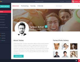 #5 for Redesigning UI of the user profile by shabcreation