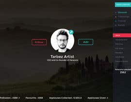 #14 for Redesigning UI of the user profile by shabcreation