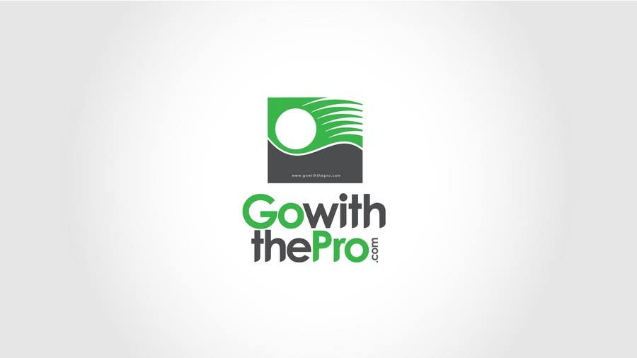 Penyertaan Peraduan #23 untuk Logo Design for Go With The Pro