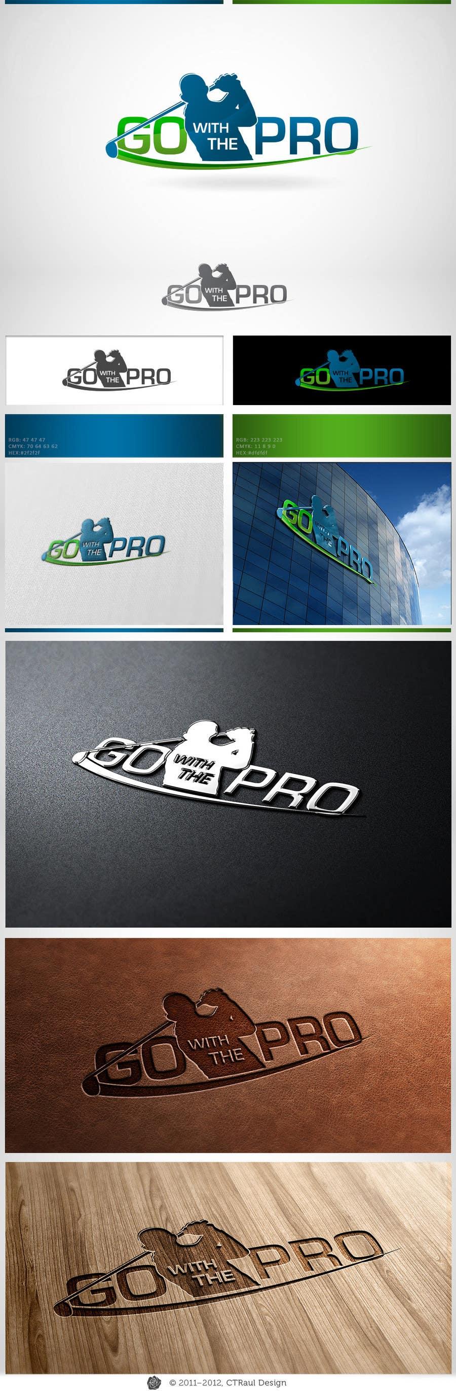 Penyertaan Peraduan #109 untuk Logo Design for Go With The Pro