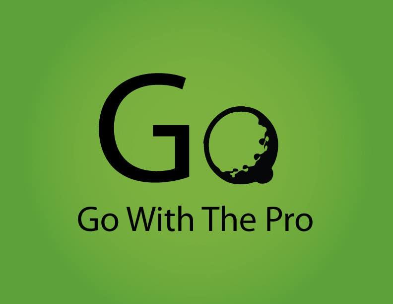 Penyertaan Peraduan #120 untuk Logo Design for Go With The Pro