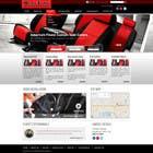 Graphic Design Entri Peraduan #19 for Design a Website Mockup for an auto seat cover manufacturer