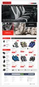 Graphic Design Penyertaan Peraduan #20 untuk Design a Website Mockup for an auto seat cover manufacturer