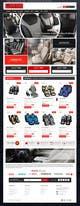Imej kecil Penyertaan Peraduan #                                                22                                              untuk                                                 Design a Website Mockup for an auto seat cover manufacturer