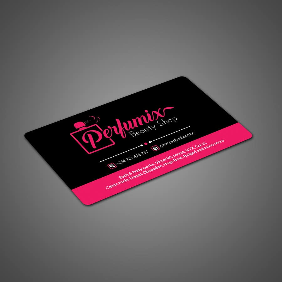 Entry #103 by papri802030 for business card for beauty shop   Freelancer
