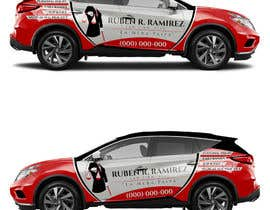 a design a vehicle wrap sticker vector and template provided