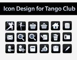 #56 para Icon or Button Design for Tango Club por topcoder10