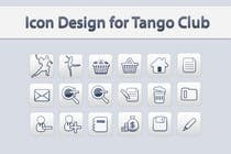 Icon or Button Design for Tango Club için Graphic Design53 No.lu Yarışma Girdisi