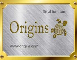 #10 for Furniture Metal Label Design af lemza