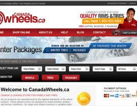 #99 para Graphic Design for Canadawheels.ca por cristianzaharia