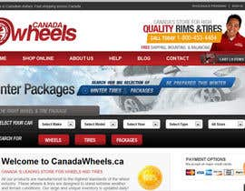 #98 para Graphic Design for Canadawheels.ca por cristianzaharia