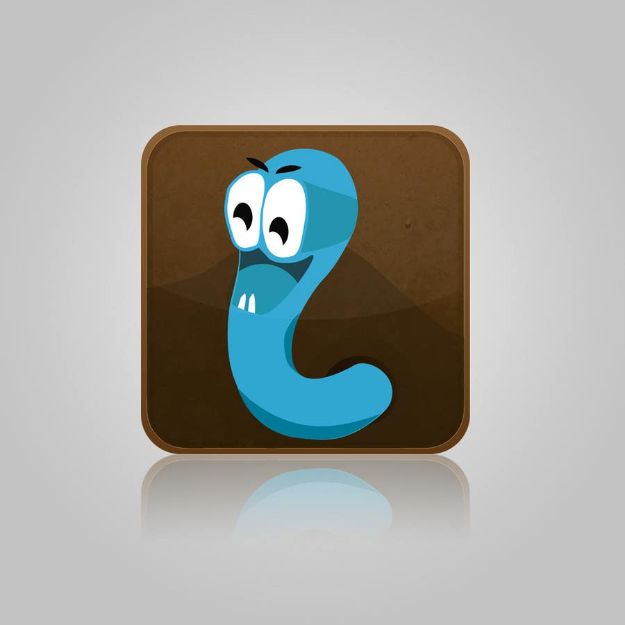 Contest Entry #31 for Icon for Worm game on iPhone and iPad