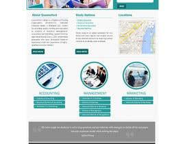 "#27 untuk Design a Website Mockup for ""Queensford College"" oleh webmastersud"