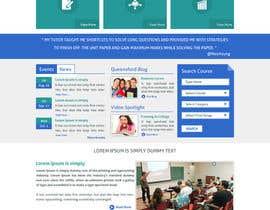 "#30 untuk Design a Website Mockup for ""Queensford College"" oleh arunkoshti"