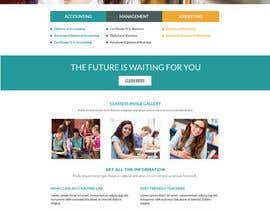 "#18 untuk Design a Website Mockup for ""Queensford College"" oleh shabcreation"