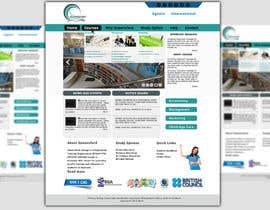 "#11 untuk Design a Website Mockup for ""Queensford College"" oleh mishok123"