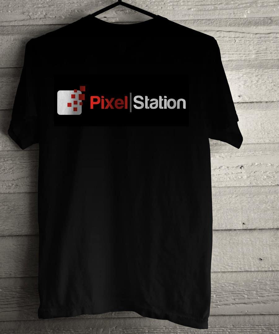 Penyertaan Peraduan #225 untuk Logo Design for Company Pixel Computer, Brand Pixel Station