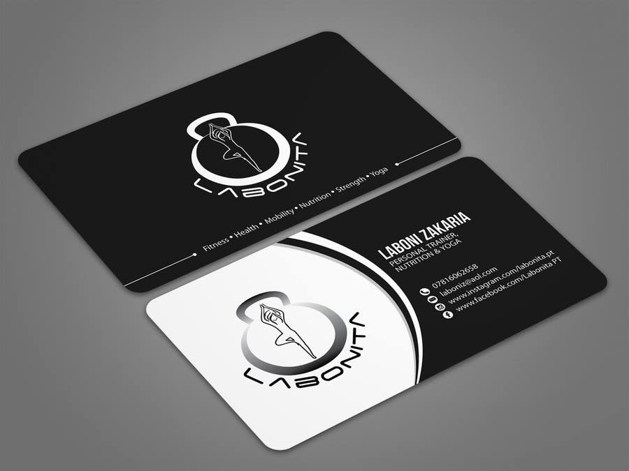 Entry #37 by aminul1988 for Design a business card for a Personal ...