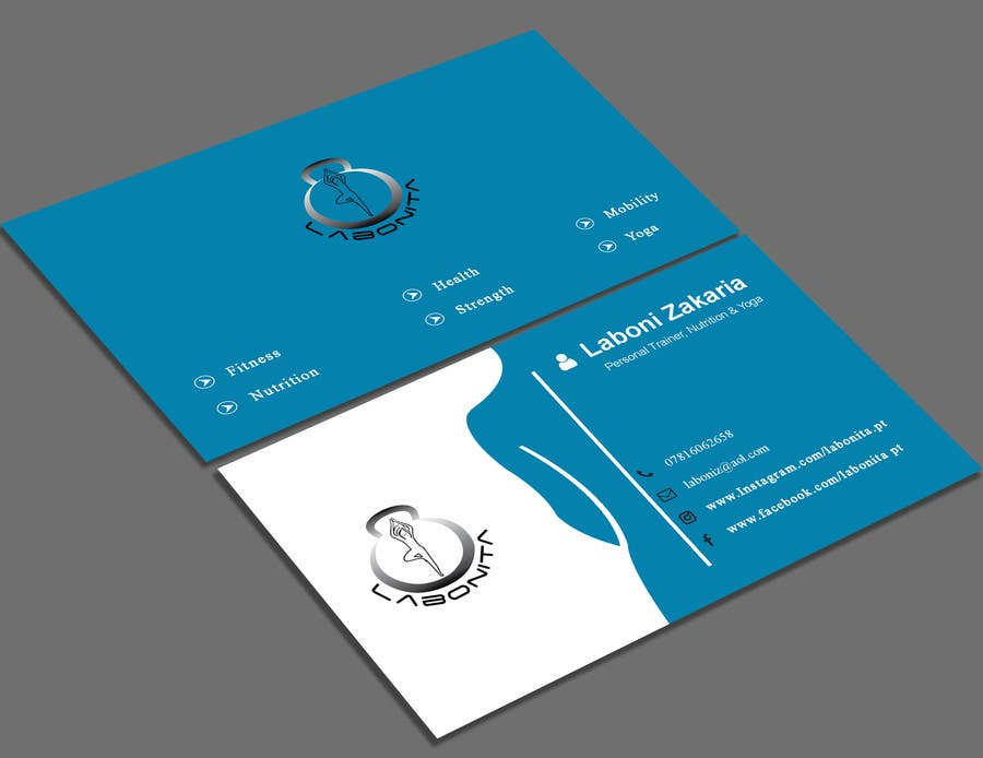 Entry #93 by shajuahmed45 for Design a business card for a Personal ...