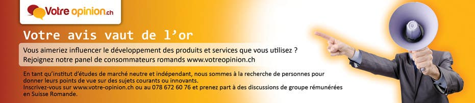 Konkurrenceindlæg #                                        17                                      for                                         Advertisement Design for www.votre-opinion.ch
