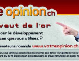 #1 for Advertisement Design for www.votre-opinion.ch af ma7mdmech