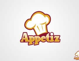 #125 για Logo Design for Appetiz από JustLogoz