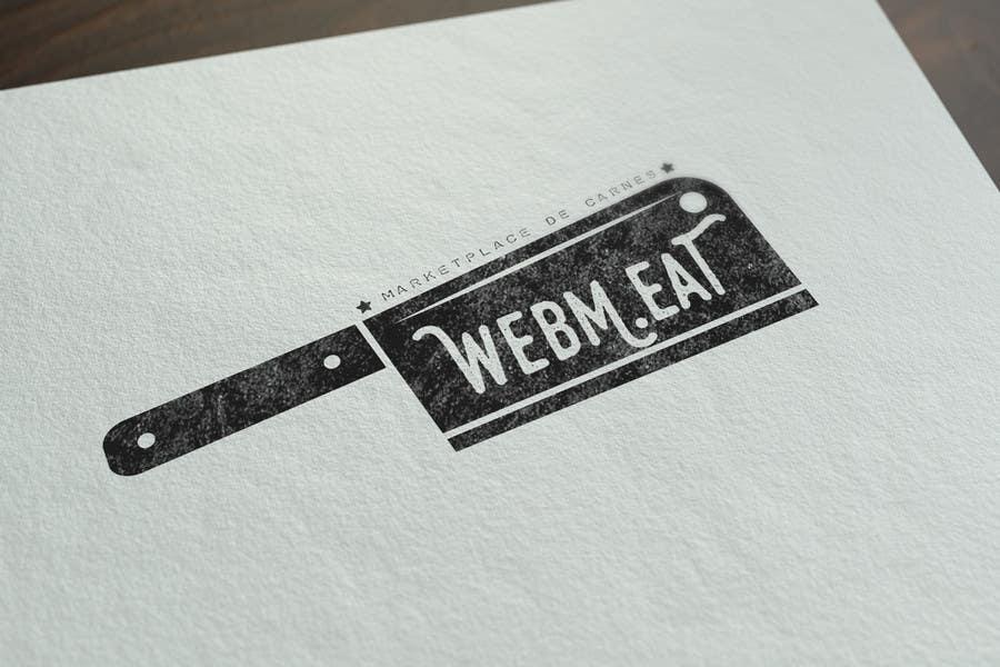 Inscrição nº                                         34                                      do Concurso para                                         LogotipoLogotipo para Marketplace de Carnes - Web Meat