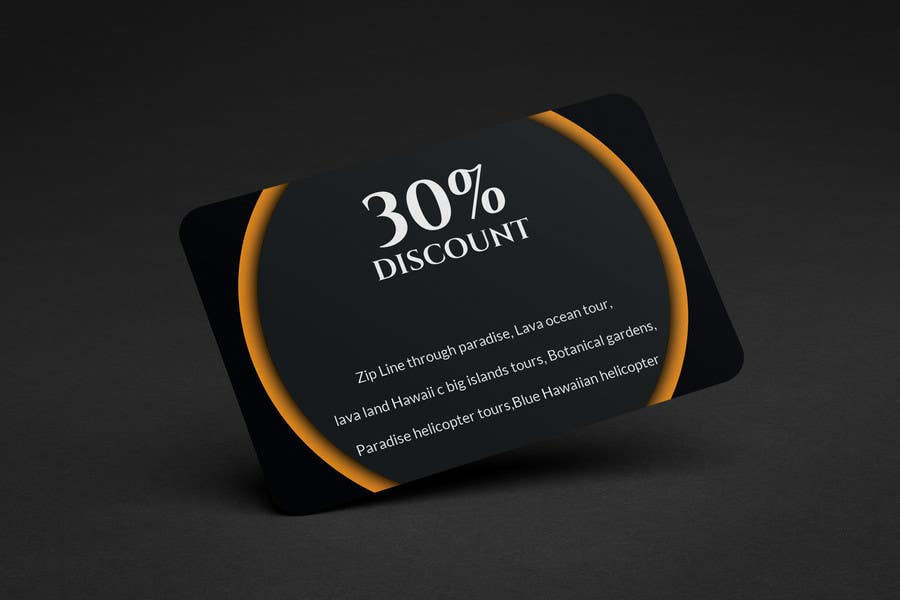 Entry #46 by Ataur6332 for Business Card size coupons | Freelancer