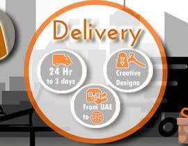#31 untuk Design a Delivery banner oleh somaya4me