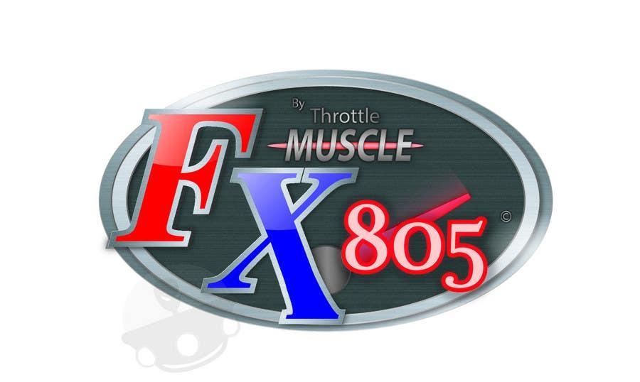 Inscrição nº                                         17                                      do Concurso para                                         Logo Design for FX805