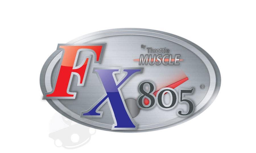 Inscrição nº                                         16                                      do Concurso para                                         Logo Design for FX805