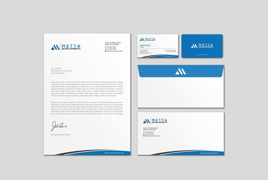 Entry 40 by mdreyad for design our stationary suite business cards contest entry 40 for design our stationary suite business cards letterhead envelope reheart Choice Image