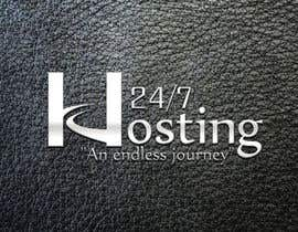 #46 para Logo Design for 24/7 Hosting por rochrockz