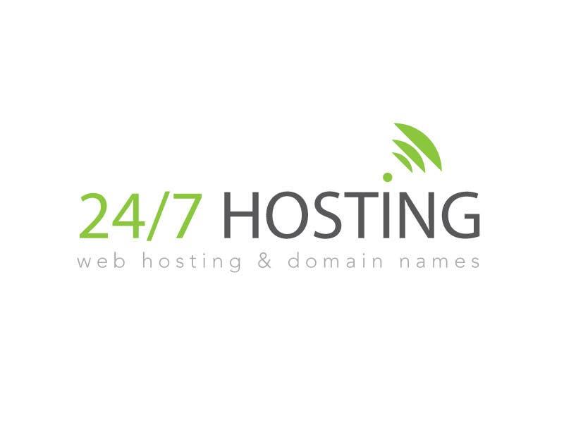Inscrição nº 95 do Concurso para Logo Design for 24/7 Hosting