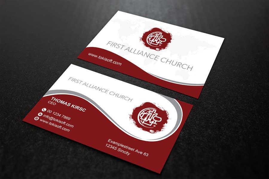 Entry #177 by Najmulraj for church business cards | Freelancer