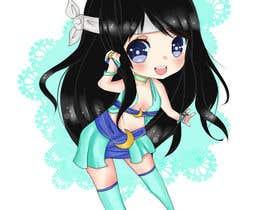 #10 para Draw an anime/chibi drawing of my original character por mirandalengo