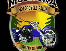 #20 para Logo Design for Muskoka Motorcycle Rally por PCRepairamedics