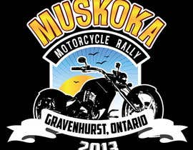 #65 pentru Logo Design for Muskoka Motorcycle Rally de către OliveDesigns