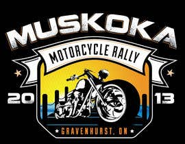 #45 para Logo Design for Muskoka Motorcycle Rally por KVdesigns